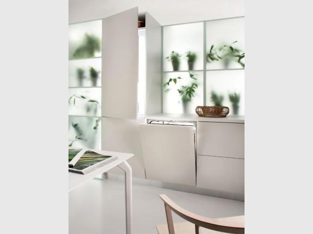 Réfrigérateur et lave-vaisselle reliés pour économiser l'énergie - GreenKitchen