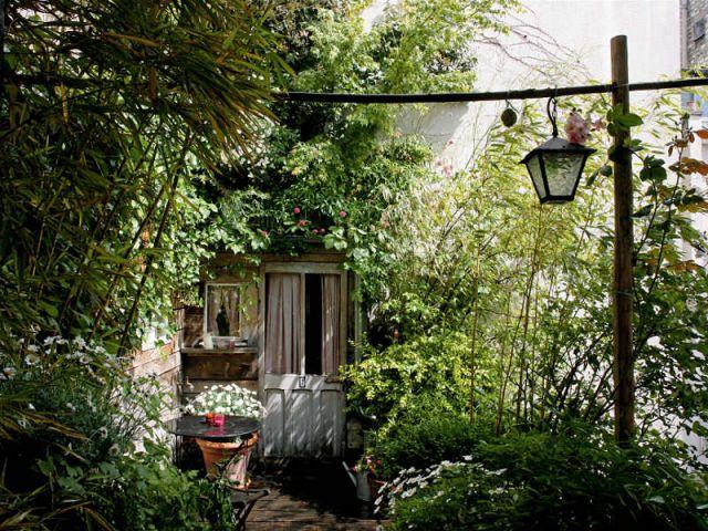 une terrasse de poche carnet de travail dun jardinier paysagiste