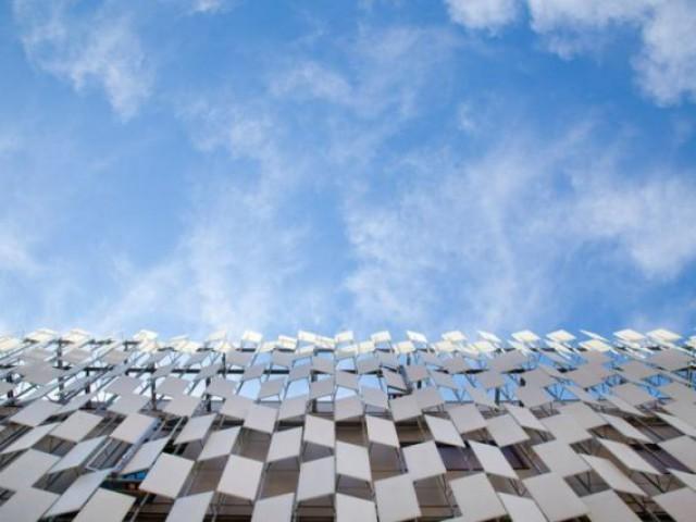 Un bâtiment ouvert - Frac Marseille