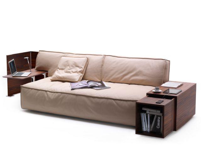 Canapé MyWorld par Philippe Starck pour Cassina - Starck nouveautés Milan