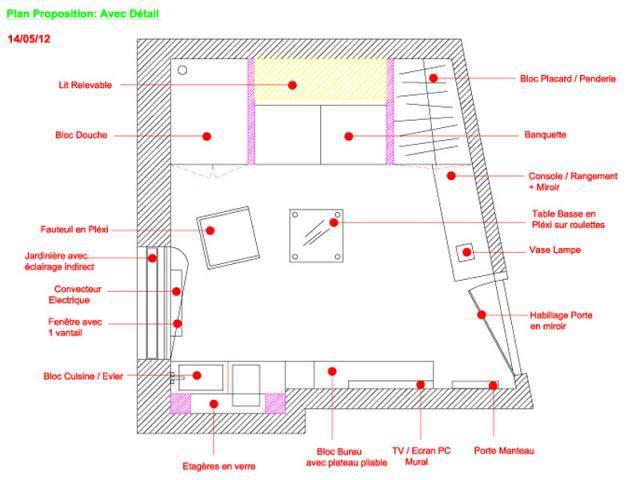 1 Mini Appartement De 6 M2 Plein De Fraîcheur