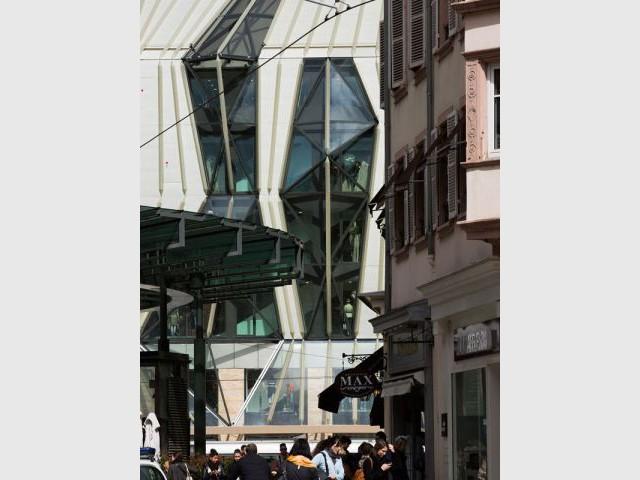 Un objet architectural - Printemps Strasbourg