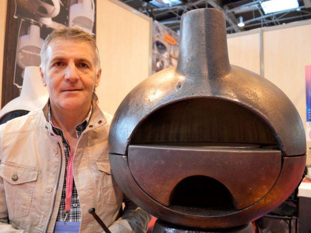 Le four à bois démontable de Georges Peyrano et Serge Yahiel - Concours Lépine 2013