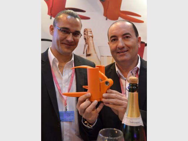 Le tire-bouchon à champagne de Jacques Pitoux et Pierrick Duret - Concours Lépine 2013
