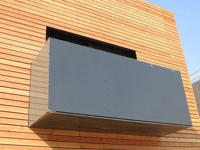 Balcon - logements passifs Gonesse