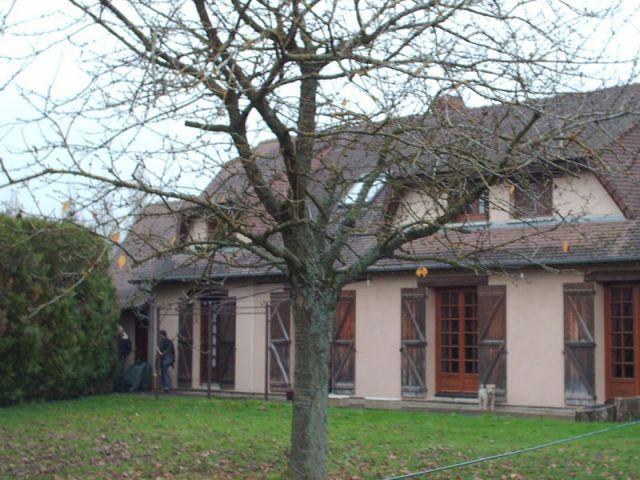 Véranda géométrique Eure-et-Loir - Avant