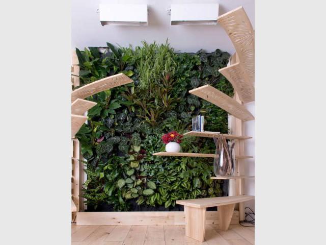 Le mur végétal fonctionnel - Jardins de Babylone