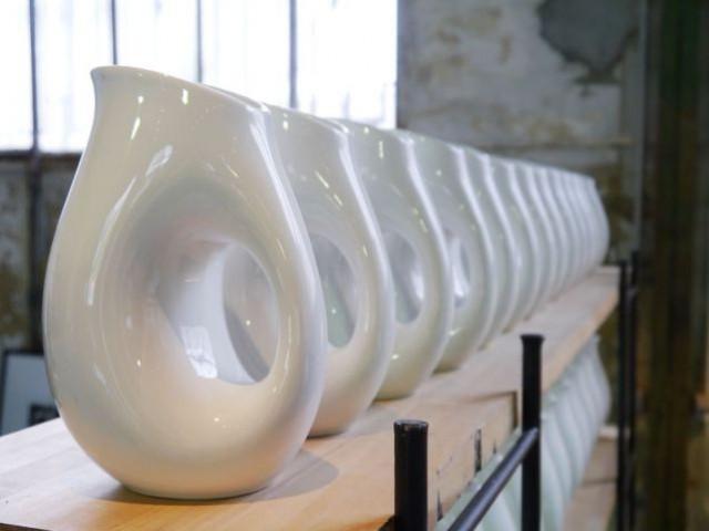 Habitat 1964 - vase blanc