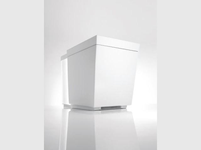 Siège chauffant et chauffe-pieds - WC à 6.650 dollars