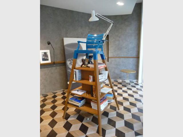 Manufacture du design - chaise étagère