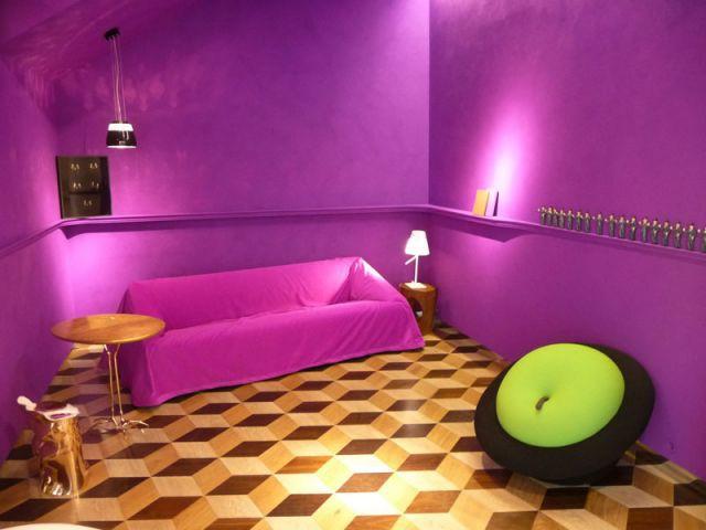 Manufacture du design - salon violet