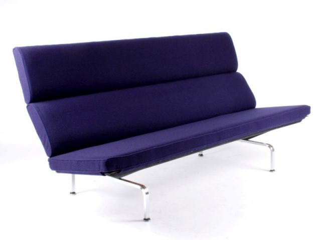 Canapé Compact de Ray et Charles Eames - Please sit down !
