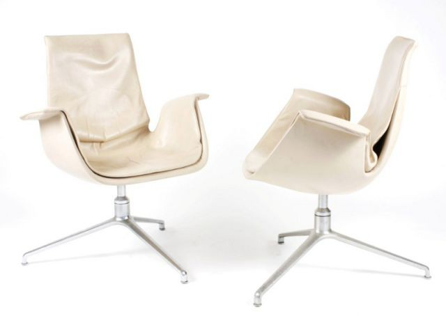 Fauteuils FK6726 de Preben Fabricius - Please sit down !