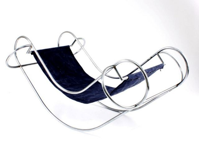 Rocking-chair Symétrique de Jean-Michel Sannejouand - Please sit down !