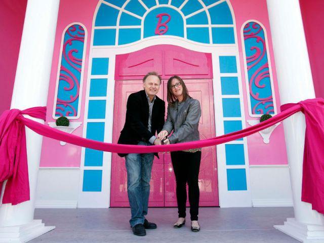 L'inauguration de la maison de Barbie - maison Barbie Berlin
