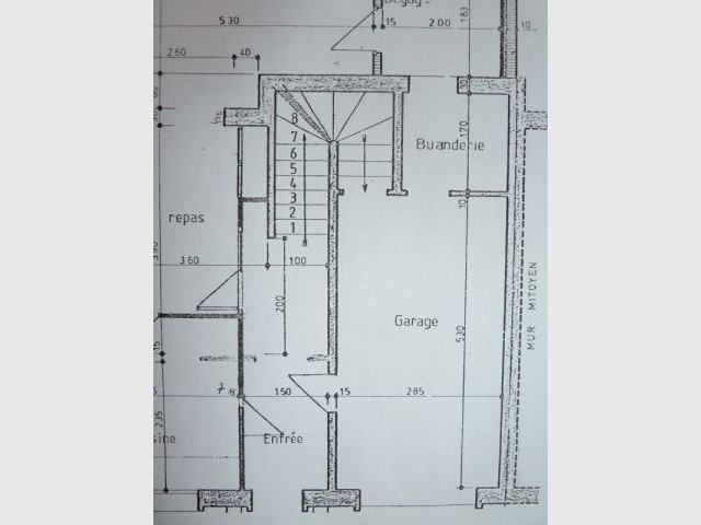 Plan avant garage - Elodie Bonnet