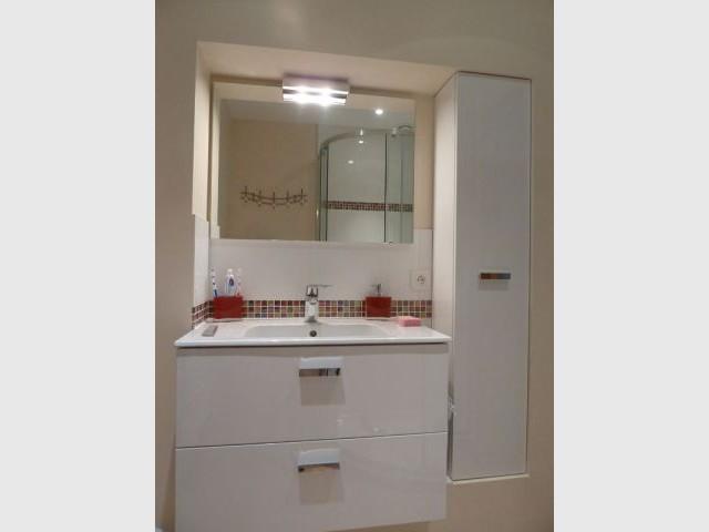 Meubles salle de bains  après - élodie bonnet