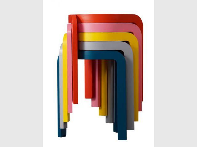 Tabouret SPIN (Staffan Holm ) - Musée des Arts et Métiers - Design [R]evolution