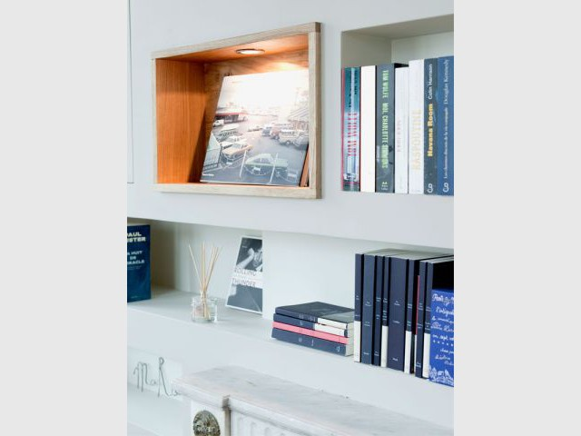 Détail meuble - Appartement rénovation 7ème arrondissement / Agence Demont Reynaud /PPil