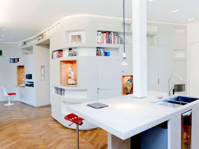 L'entrée - Appartement rénovation 7ème arrondissement / Agence Demont Reynaud /PPil