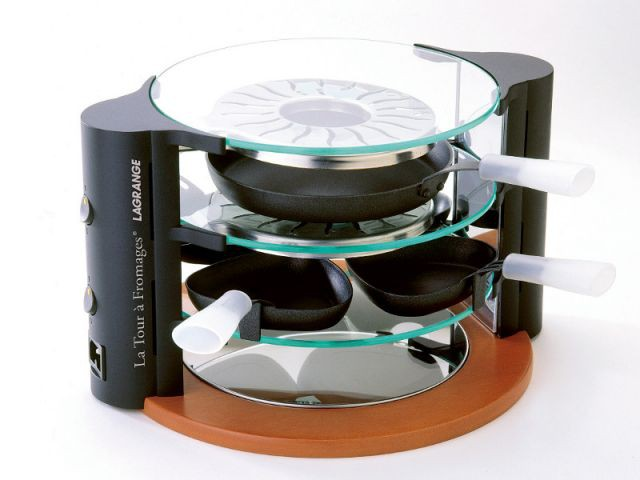 Une machine à raclette comme une tour - Electroménager design