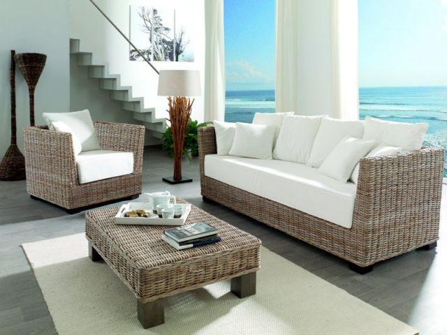 douze ambiances pour introduire le rotin dans sa d co. Black Bedroom Furniture Sets. Home Design Ideas