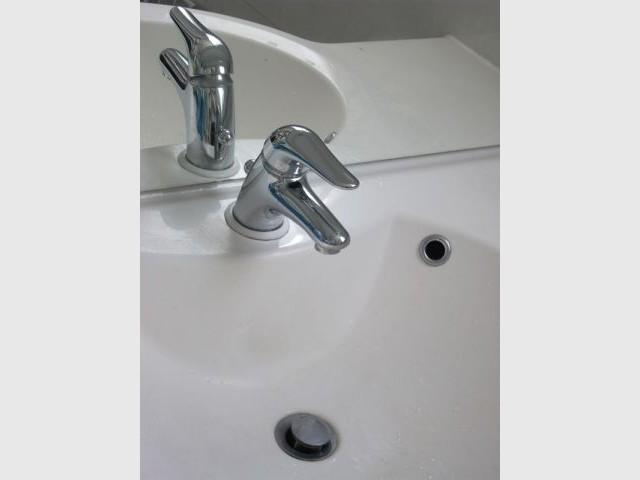 Robinet mitigeur salle de bains