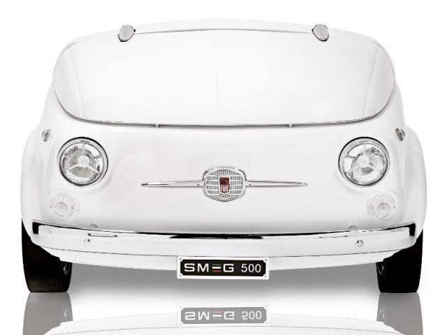 Collaboration Smeg / Fiat pour un réfrigéateur - Smeg Fiat 500