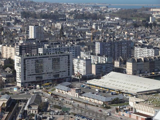 Le quartier de la Divette à Cherbourg