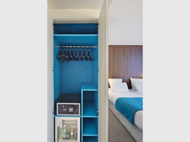 Des chambres au charme vintage - Hôtel 61 Nation
