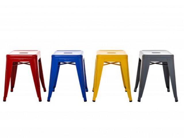 Chaises Le Corbusier - couleurs Tolix