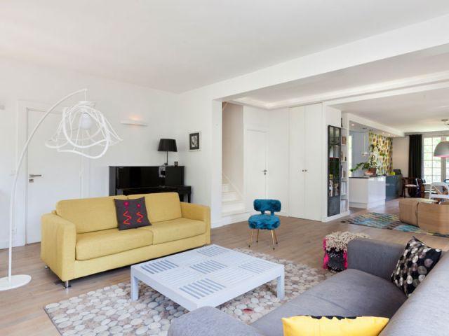 Une pièce à vivre de 80 m² - Avant/Après Saint-Maur-des-Fossés