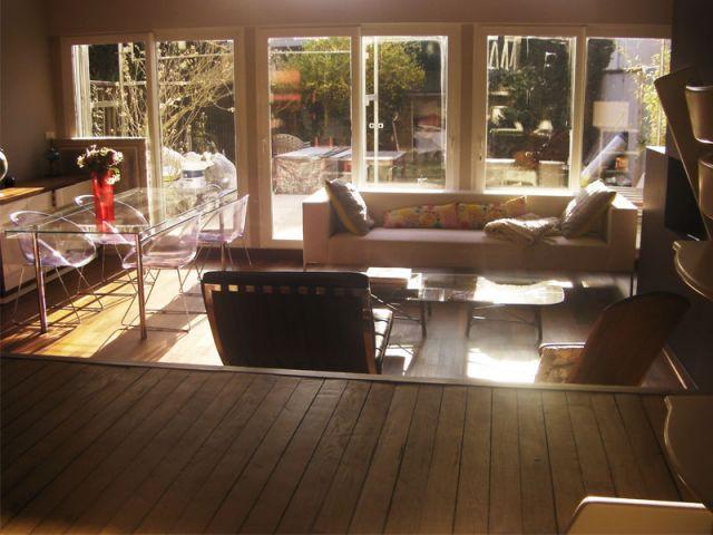 Une pièce à vivre d'une étonnante hauteur  - Chantier Xella