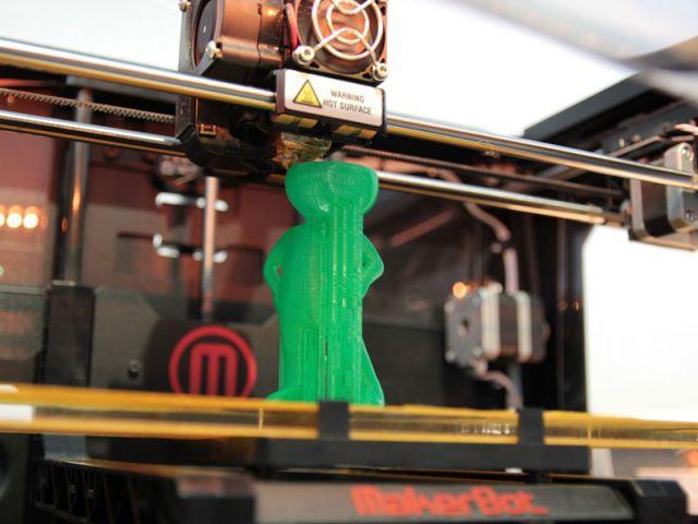 Imprimante 3D - expo Cetelem