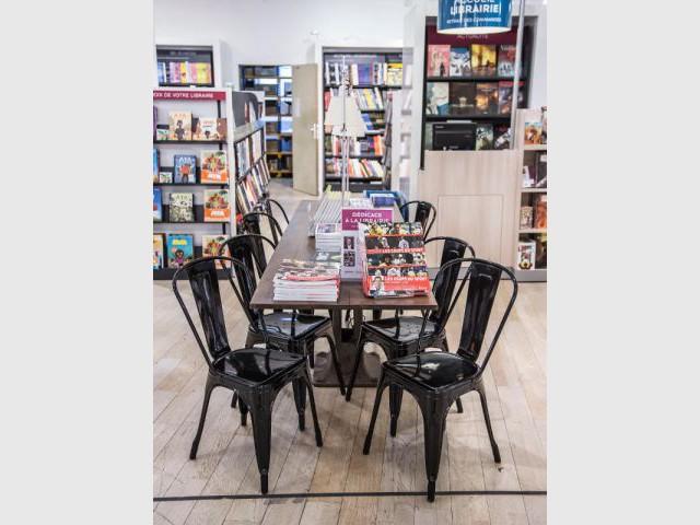 Nouveau rayon librairie du BHV/Marais - Le BHV devient le BHV/Marais