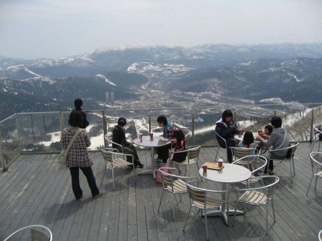 La terrase sans mer de nuages - Unkai Terrace of Tomamu - Japon - Nuages
