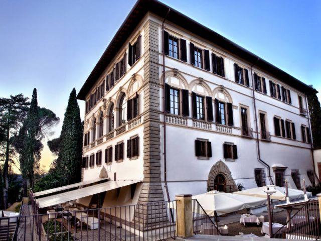 L'imposant bâtiment de l'hôtel Il Salviatino - Il Salviatino
