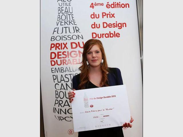 Cécile Fabre, lauréate du Prix du Design Durable 2013 - Prix du Design Durable 2013
