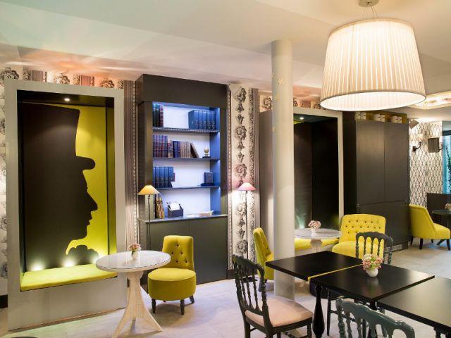 les amours des crivains c l bres inspirent un h tel. Black Bedroom Furniture Sets. Home Design Ideas