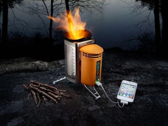 chargeur portable feu de bois - Biolite