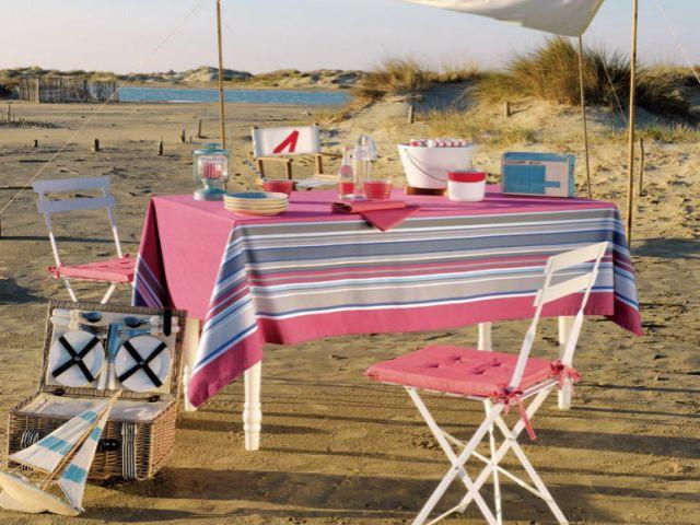 Un rose glacé pour une table gourmande - Table d'été
