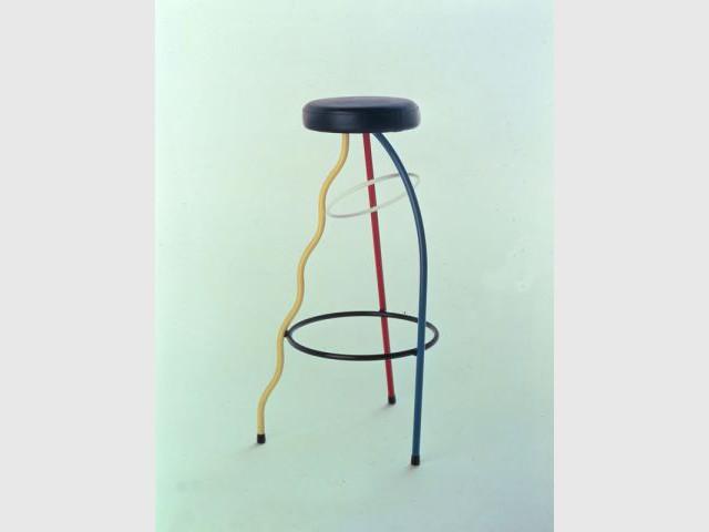 Tabouret Duplex (Javier Mariscal) - Design Espana - expo Bordeaux