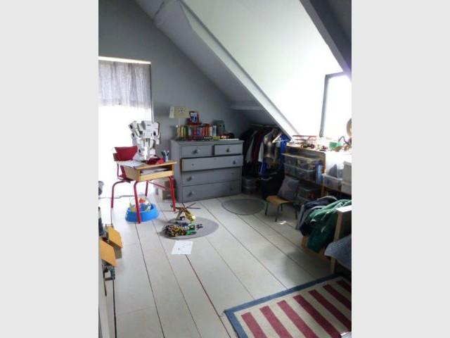Après : les chambres des enfants - Rénovation Rambouillet - grange