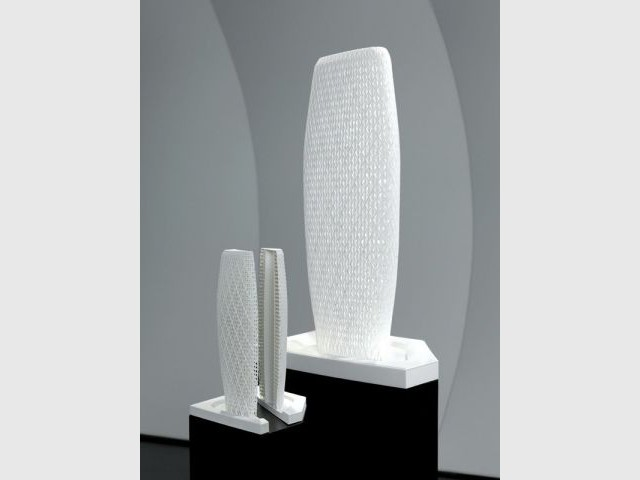 Deux Maquettes Parametric Towers, 2008 - Zaha Hadid
