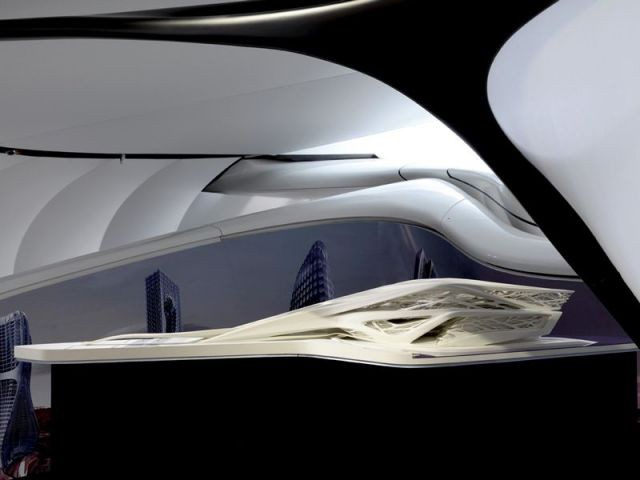 Abu Dhabi Performing Arts Center  - Zaha Hadid