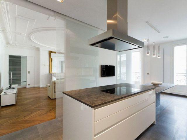 1 appartement haussmannien renaît avec style