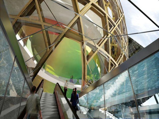Pour une ouverture au public en 2016 - la Cité musicale de l'Ile Seguin