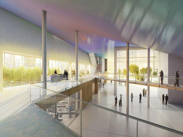 Coût de construction: 170 millions d'euros - la Cité musicale de l'Ile Seguin