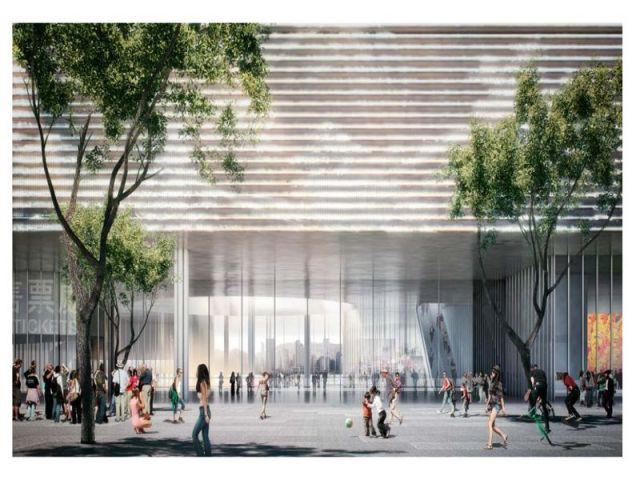 """Toutes les formes d'art - Herzog & de Meuron et TFP Farrells construiront un """"Beaubourg asiatique"""""""