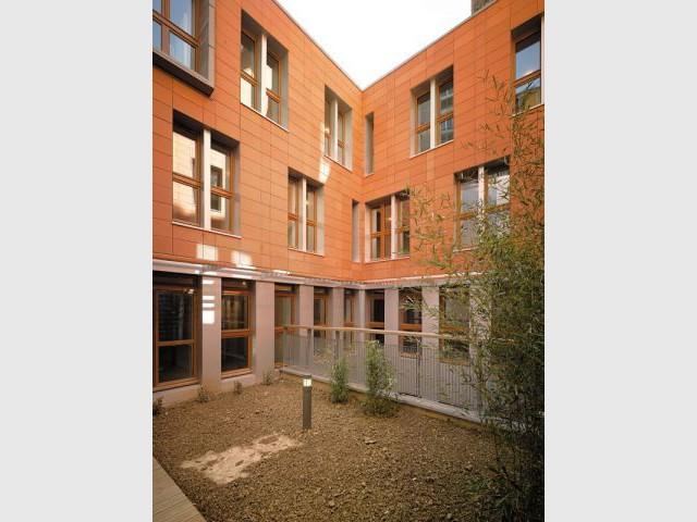 Façades à ossature bois  - Réhabilitation de 18 logements dans le 12ème à paris